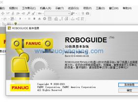 工业机器人FANUC ROBOGUIDE V9.4 (Rev.T)软件安装视频
